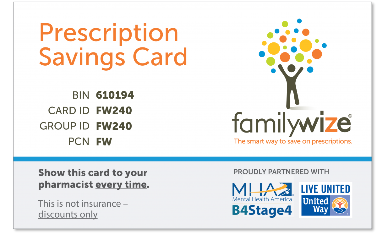download a free card and learn more about familywize here - Free Prescription Card